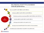 key features of q4 fy16 consolidated financial