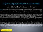 english language institute in uttam nagar 1