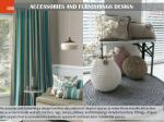 accessories and furnishings design