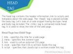 head tag