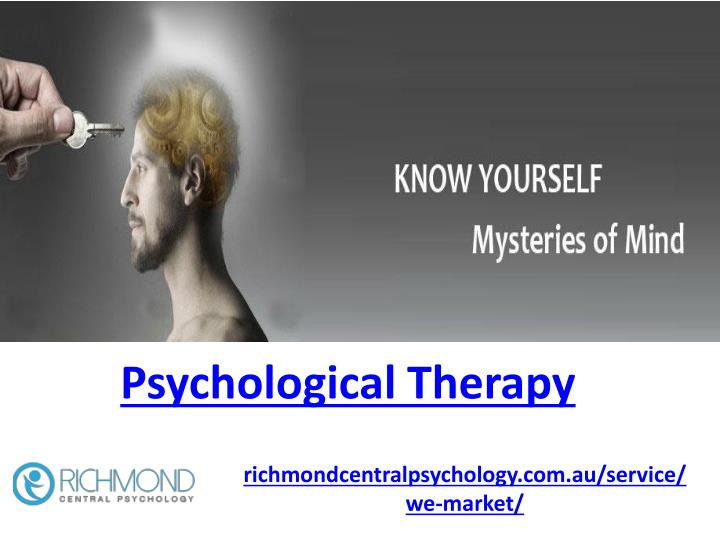psychological therapy n.