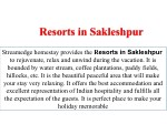 resorts in sakleshpur resorts in sakleshpur