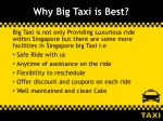 why big taxi is best