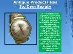 antique products has its own beauty 1