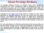about prestige brokers