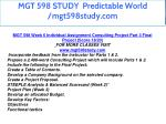 mgt 598 study predictable world mgt598study com 6