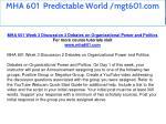 mha 601 predictable world mgt601 com 10