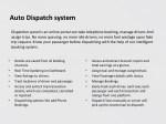 auto dispatch system