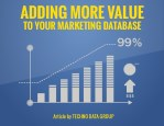 adding more value to your marketing database