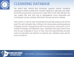 cleansing database