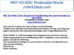 mkt 421 edu predictable world mkt421edu com 39