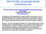 mkt 421 edu predictable world mkt421edu com 8