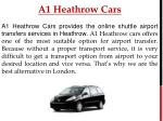 a1 heathrow cars 1