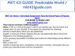 mkt 421 guide predictable world mkt421guide com 14