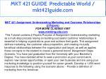 mkt 421 guide predictable world mkt421guide com 2