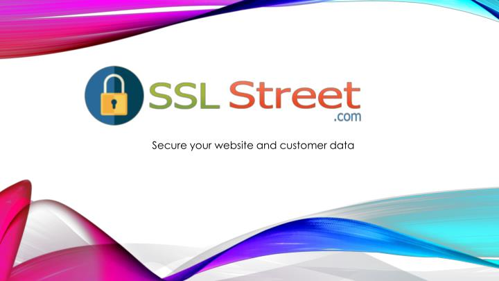 secure your website and customer data n.