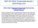 mkt 571 help predictable world mkt571help com 13