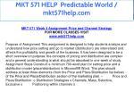 mkt 571 help predictable world mkt571help com 19