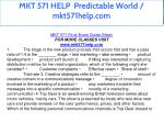 mkt 571 help predictable world mkt571help com 2