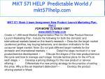 mkt 571 help predictable world mkt571help com 22