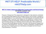 mkt 571 help predictable world mkt571help com 23