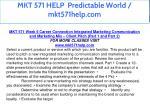 mkt 571 help predictable world mkt571help com 24