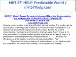 mkt 571 help predictable world mkt571help com 25