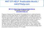 mkt 571 help predictable world mkt571help com 28