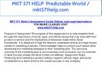 mkt 571 help predictable world mkt571help com 30