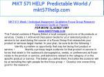 mkt 571 help predictable world mkt571help com 7