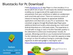 bluestacks for pc download