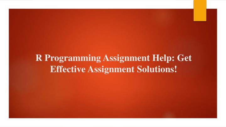 r programming assignment help get effective assignment solutions n.
