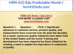 hrm 420 edu predictable world hrm420edu com 11