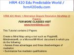hrm 420 edu predictable world hrm420edu com 3