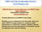 hrm 420 edu predictable world hrm420edu com 32