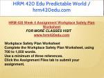 hrm 420 edu predictable world hrm420edu com 34