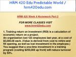 hrm 420 edu predictable world hrm420edu com 40