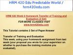 hrm 420 edu predictable world hrm420edu com 53