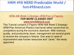 hrm 498 nerd predictable world hrm498nerd com 11