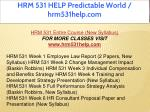 hrm 531 help predictable world hrm531help com 1