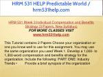 hrm 531 help predictable world hrm531help com 12