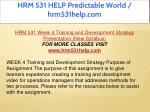 hrm 531 help predictable world hrm531help com 17