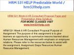 hrm 531 help predictable world hrm531help com 22