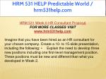 hrm 531 help predictable world hrm531help com 23