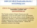 hrm 531 help predictable world hrm531help com 6