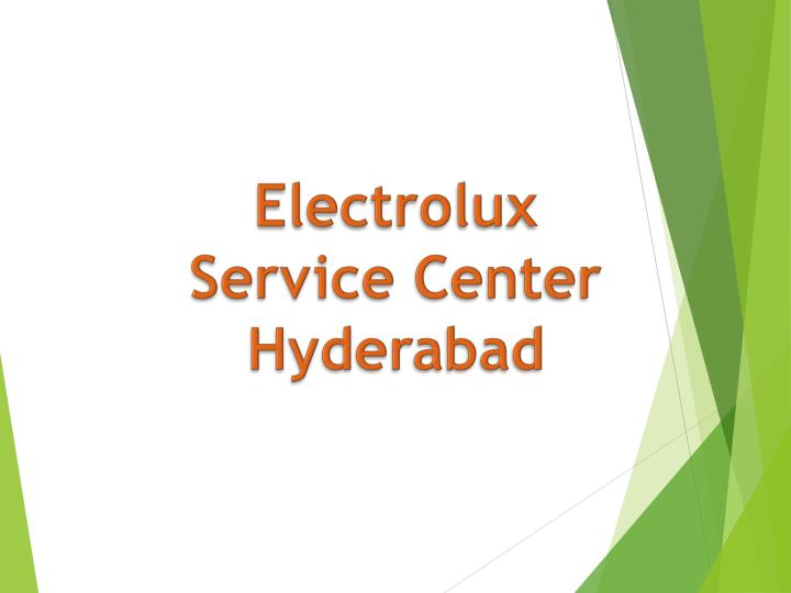 electrolux service center hyderabad n.