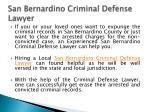 san bernardino criminal defense lawyer