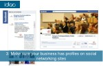 3 make sure your business has profiles on social