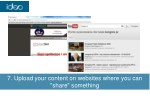 7 upload your content on websites where