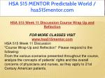 hsa 515 mentor predictable world hsa515mentor com 21